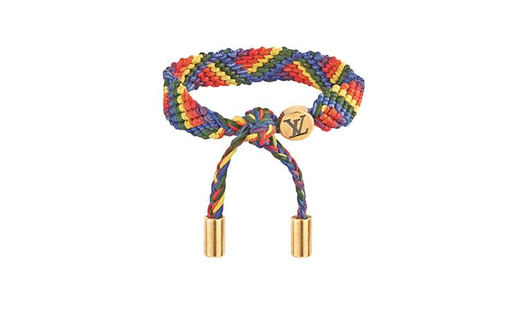 Rs 29,900; Louis Vuitton bracelet