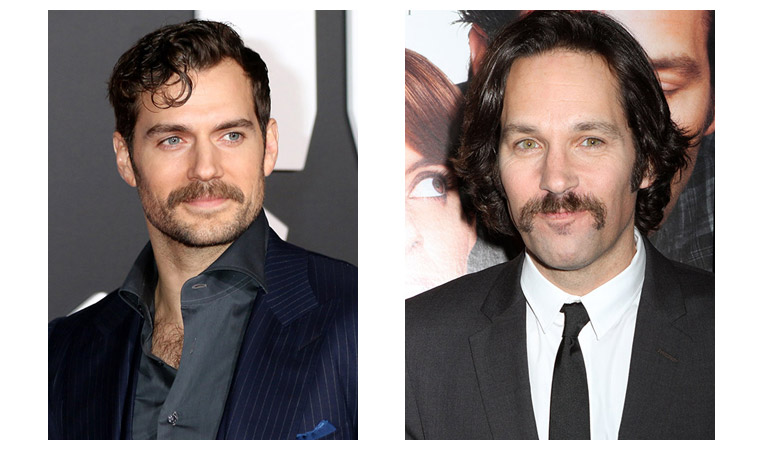 Henry Cavill(L) and Paul Rudd(R)