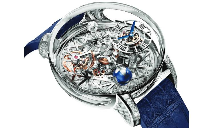Jacob & Co.  The Astronomia Tourbillon Baguette If you think cutting-edge watches are meant only for m