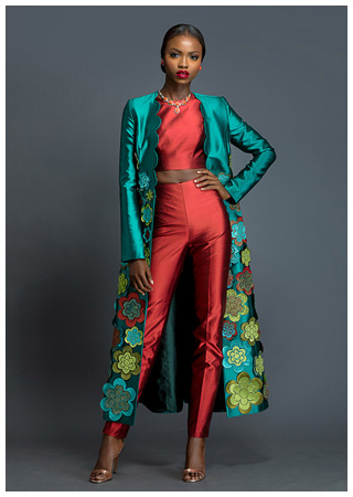 Nigerian fashion brand Deola Sagoe is an example of a sought-after label emerging from a local market not traditionally associated with luxury