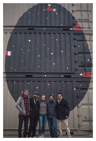 Qureshi and four friends came together to start the St+art India Foundation for street art., Photo: Naman Saraiya
