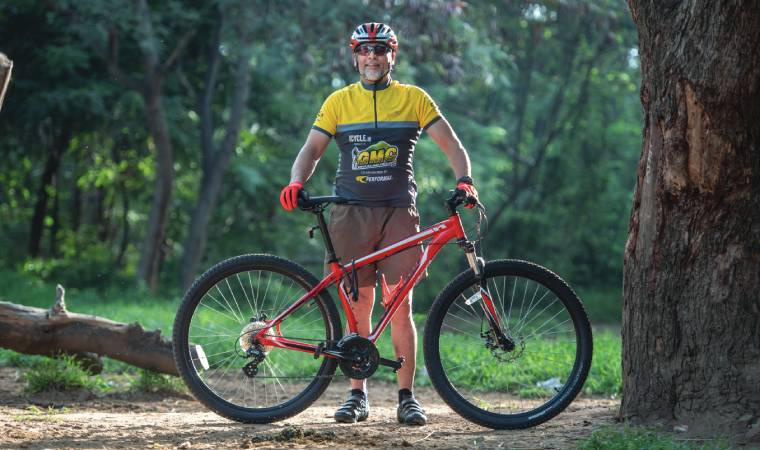 """""""I'm one of the only individuals who has completed the Tour of the Nilgiris on five occasions."""""""
