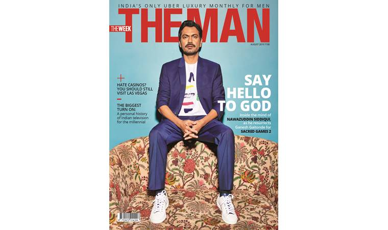 Nawazuddin Siddiqui On The Cover Of The Man August 2019 Issue