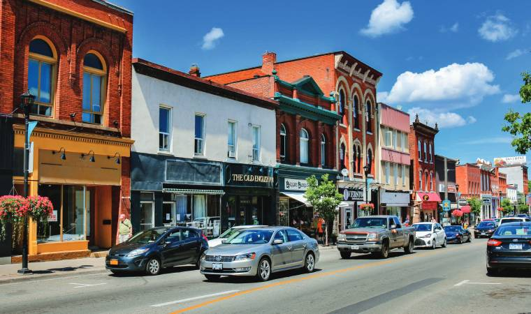 Gananoque is a town in the Leeds and Grenville area of Ontario, Canada