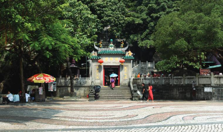 The 16th century A-Ma Temple is a must-visit if you want a taste of historical magnificence