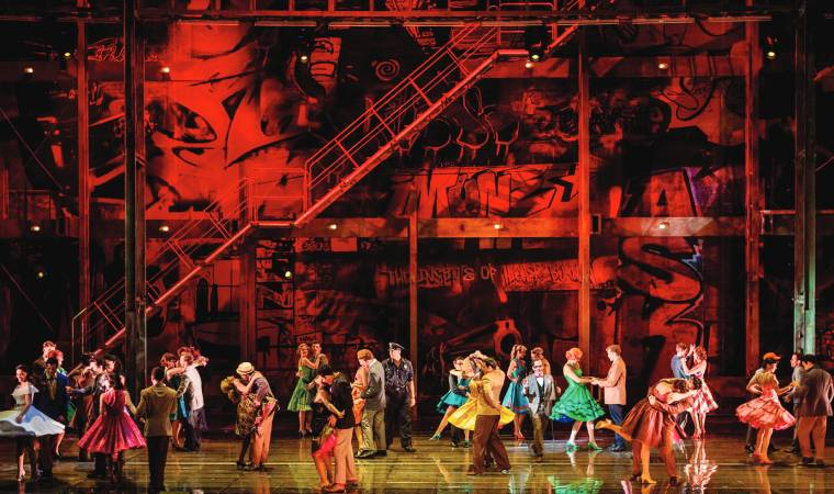 With 200 productions including theatre and opera, it's unparalleled, even in Europe.