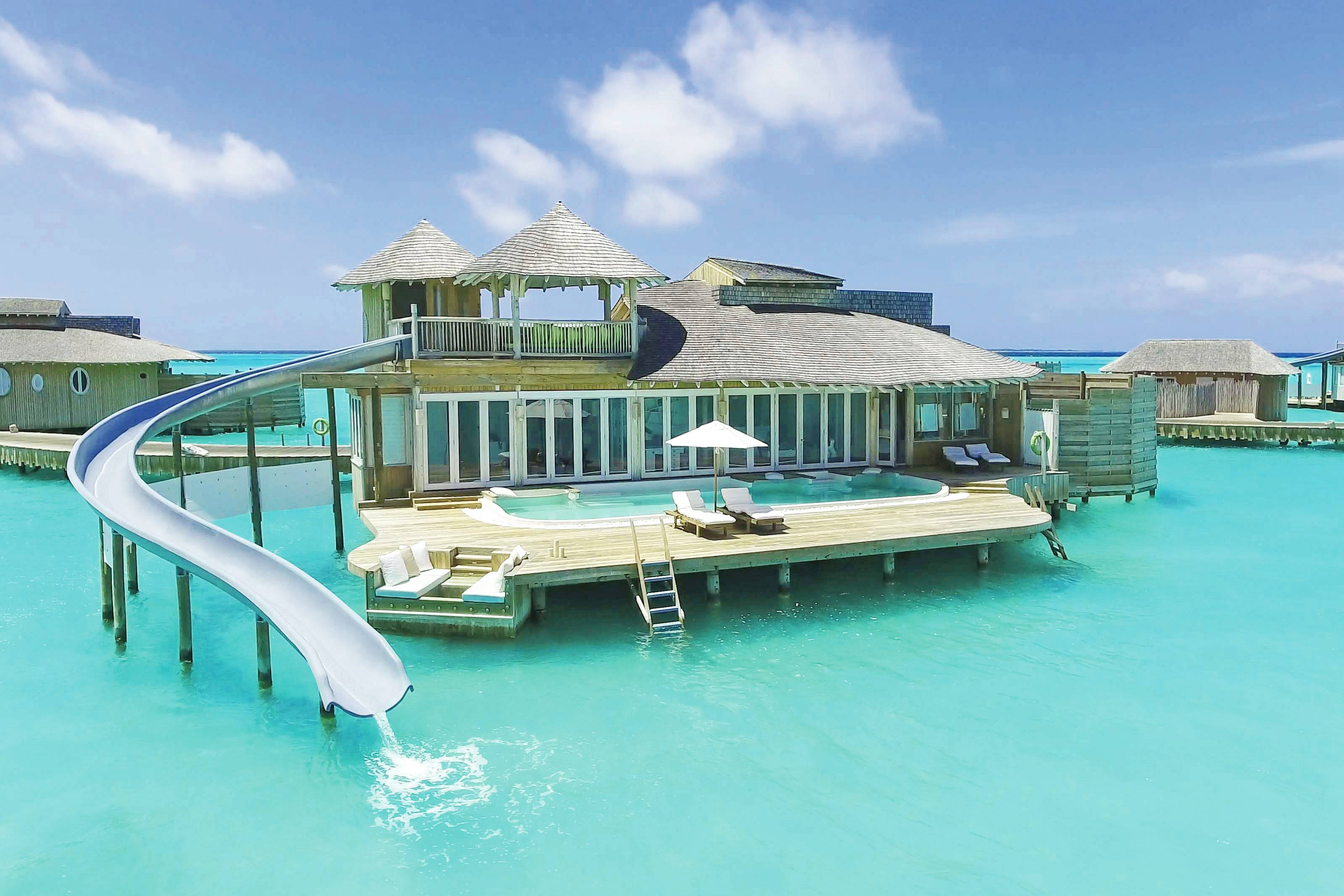 Maldives'Soneva Jani resort