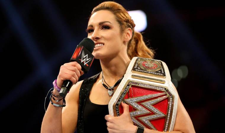 Becky, whose real name is Rebecca Quin, will defend her Raw Women's Championship at SummerSlam on Sunday, August 11 against Natalya Neidhart.