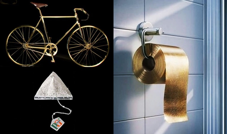 Expensive luxury items available
